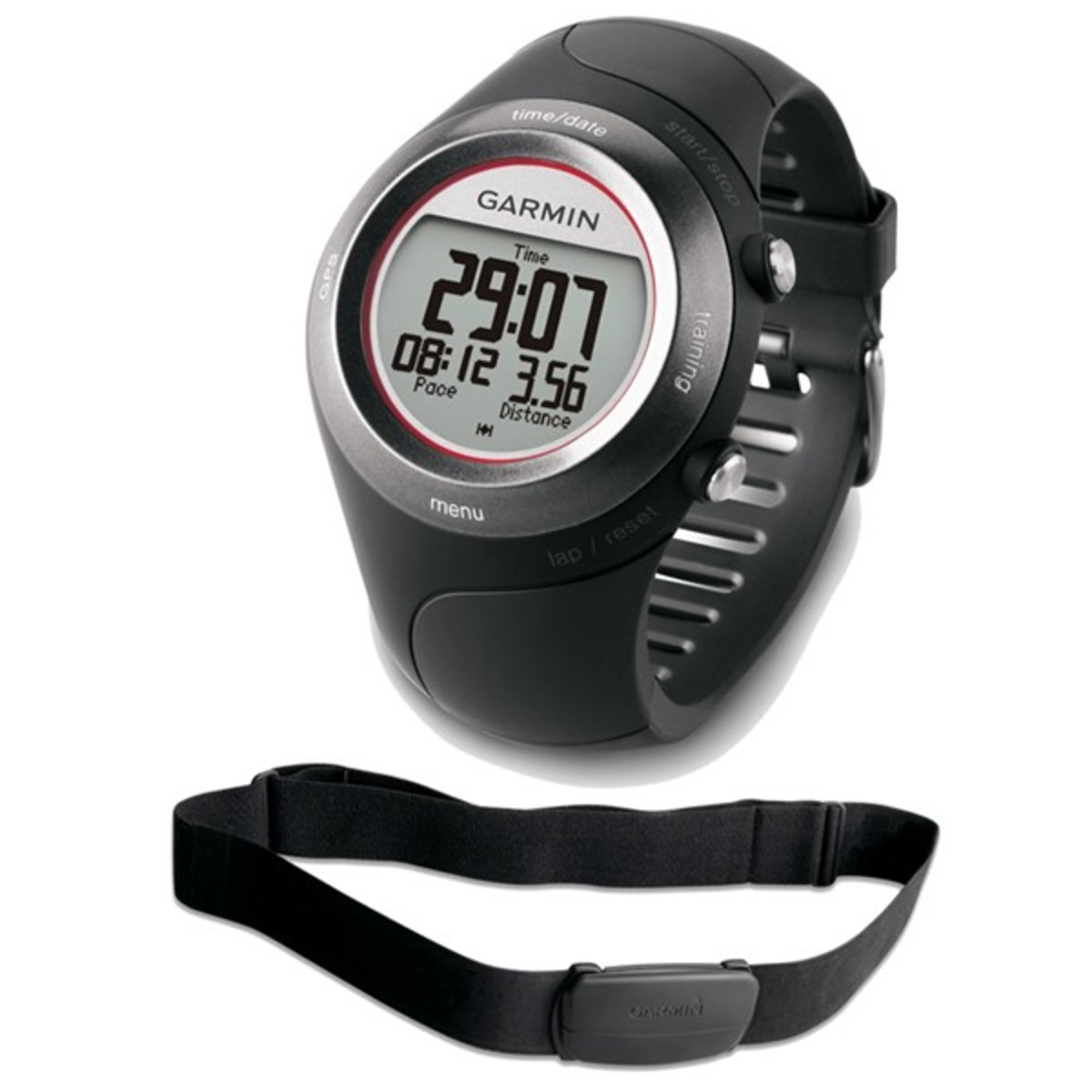 Forerunner 410 with heart rate monitor strap