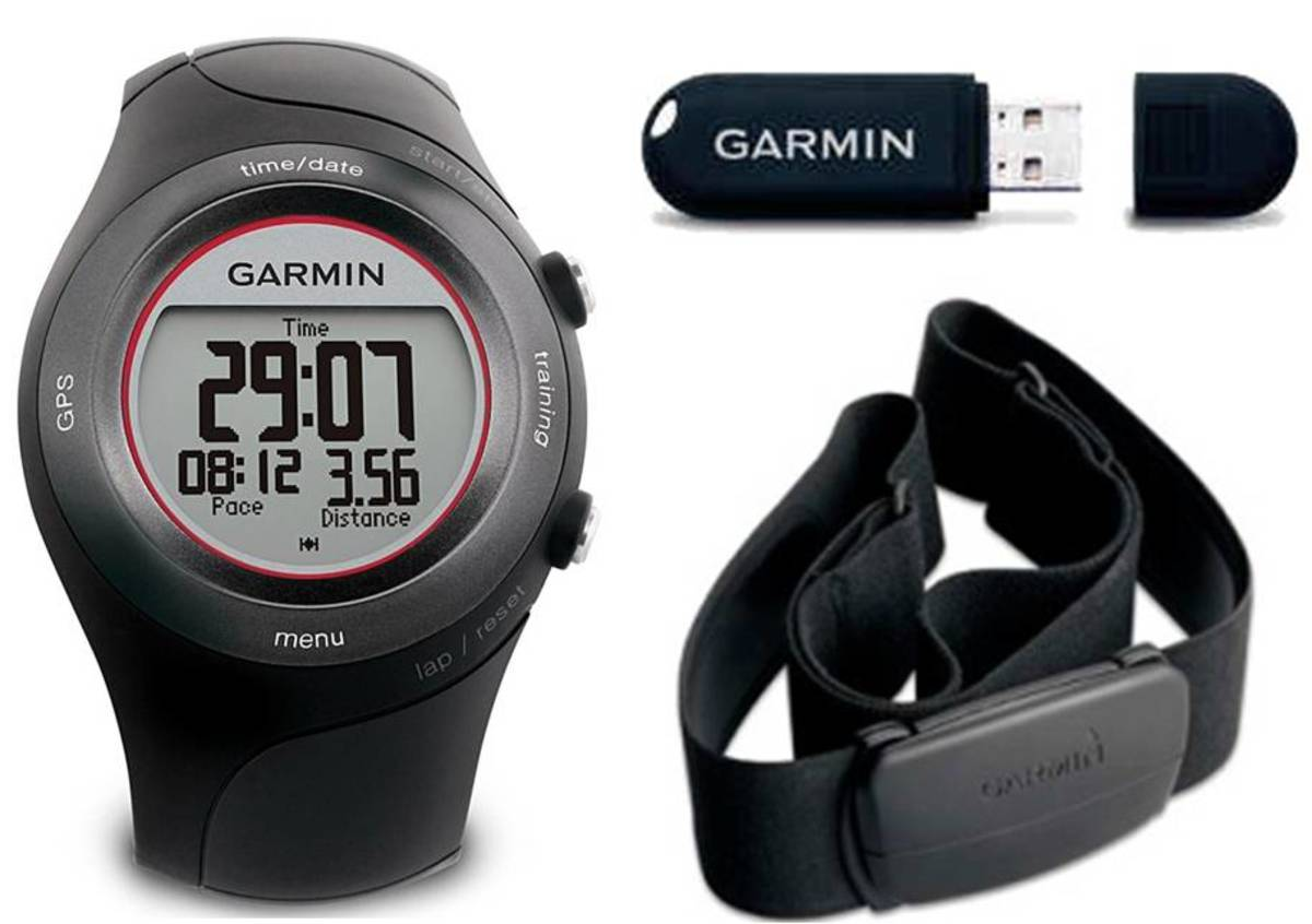 The Garmin Forerunner 410