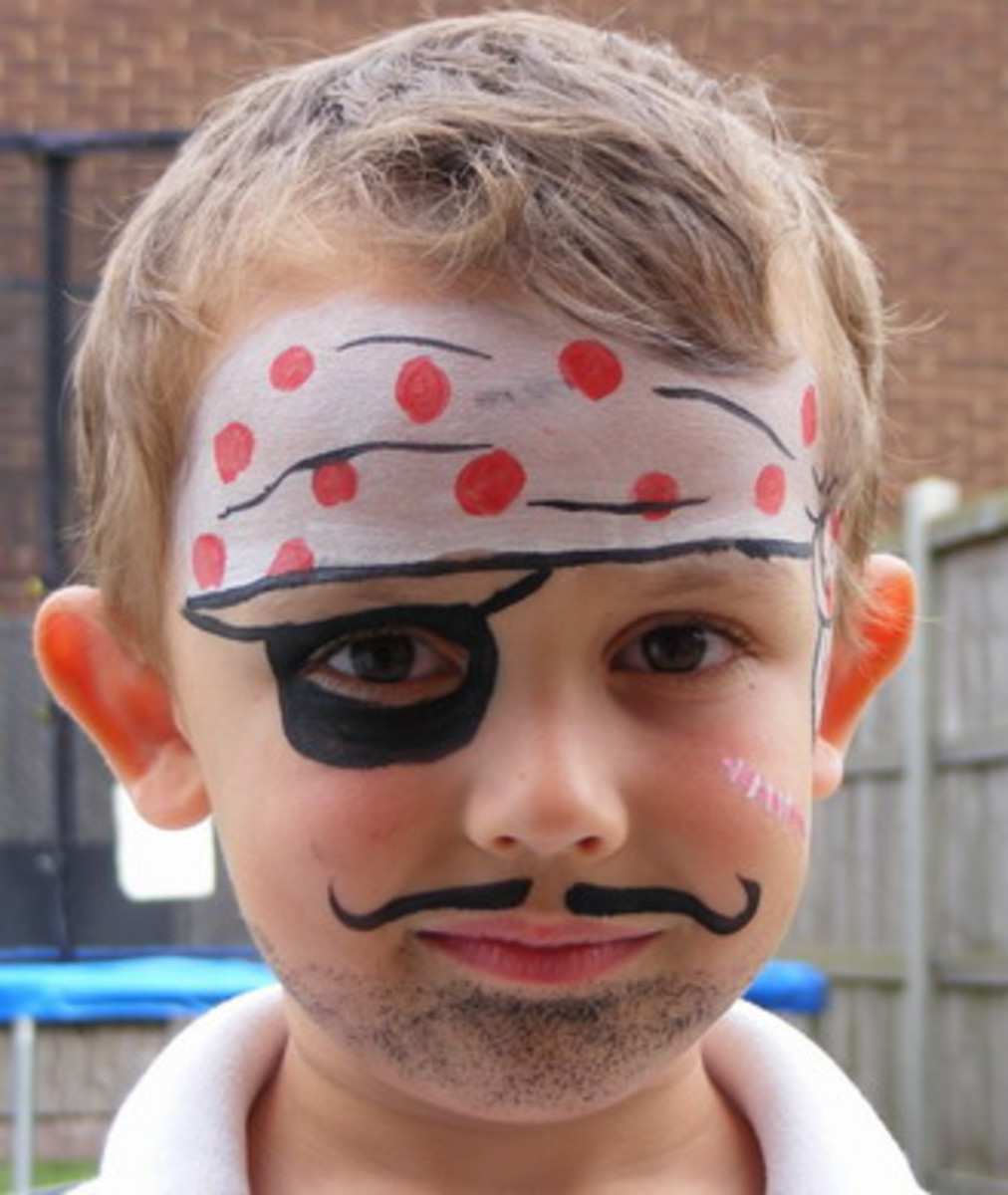 Pin It Easy Face Painting Boys