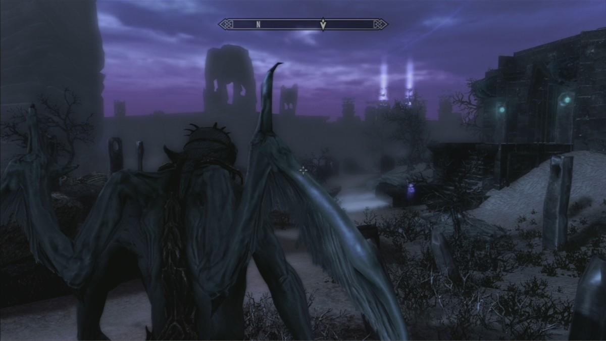 Elder Scrolls Skyrim Dawnguard: Vampire Lord Powers