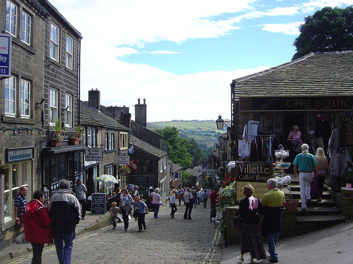 Haworth's famous street