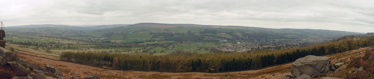 Bronte Land, Ilkley Moors, Rombalds Moor, with Traditional Songs and Recipes.