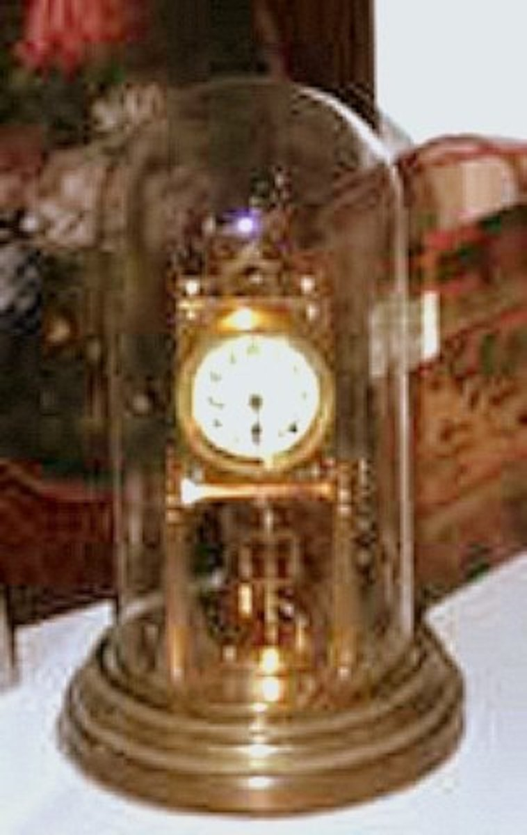 HOW TO CARE FOR AND ENJOY THE ANNIVERSARY CLOCK BY Robert Hewett Sr.