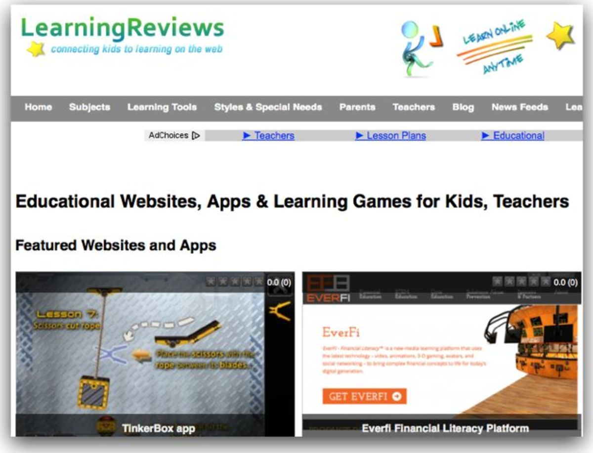 LearningReviews Science Directory