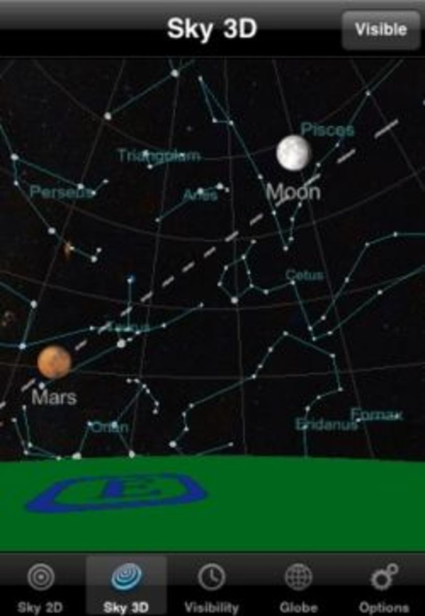 Planets app for iPhone, iPad