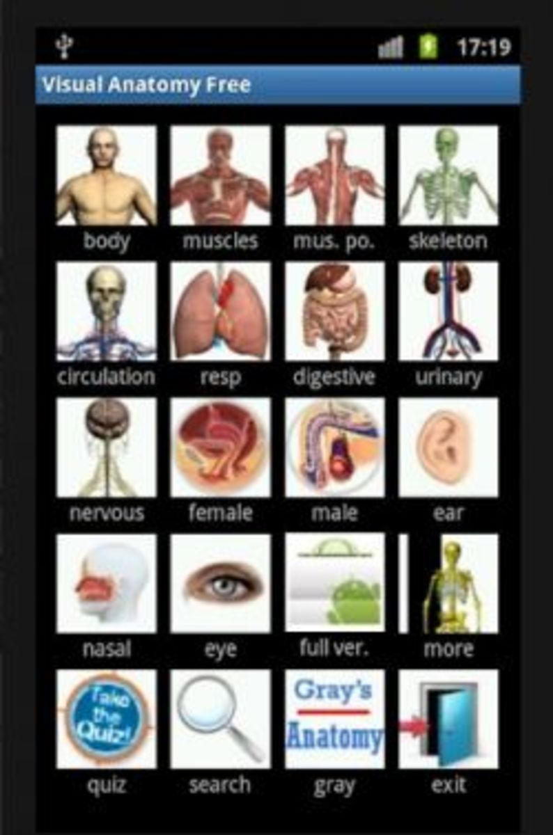 Visual Anatomy Free app for Android