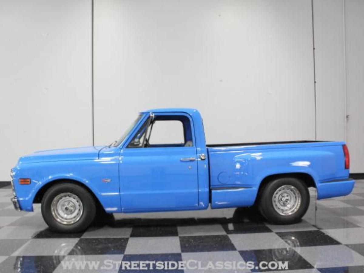 Restoring a 1967 to 1972 Chevy Truck with a 1988 to 1998 bed