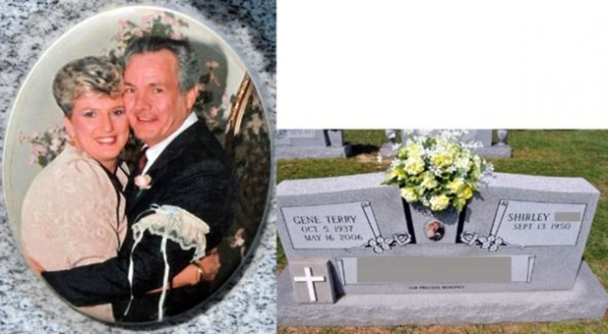 PhotoCeramic Memorial Tombstone Portraits A Window Into Our Past - Ceramic photo on headstone