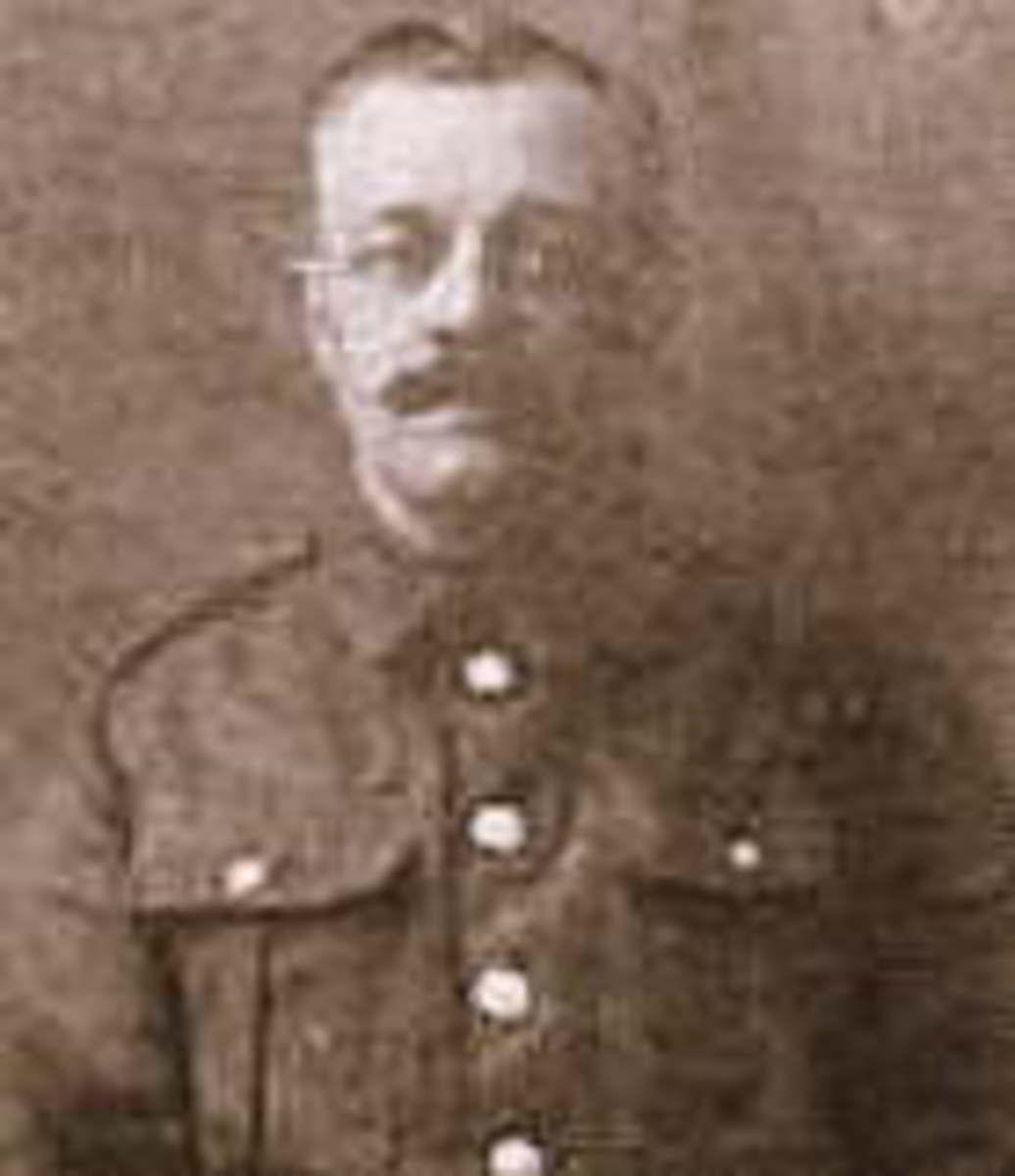Bugler Reginald George Bennett, 1st DCLI (1889-1917) photographed around 1915.