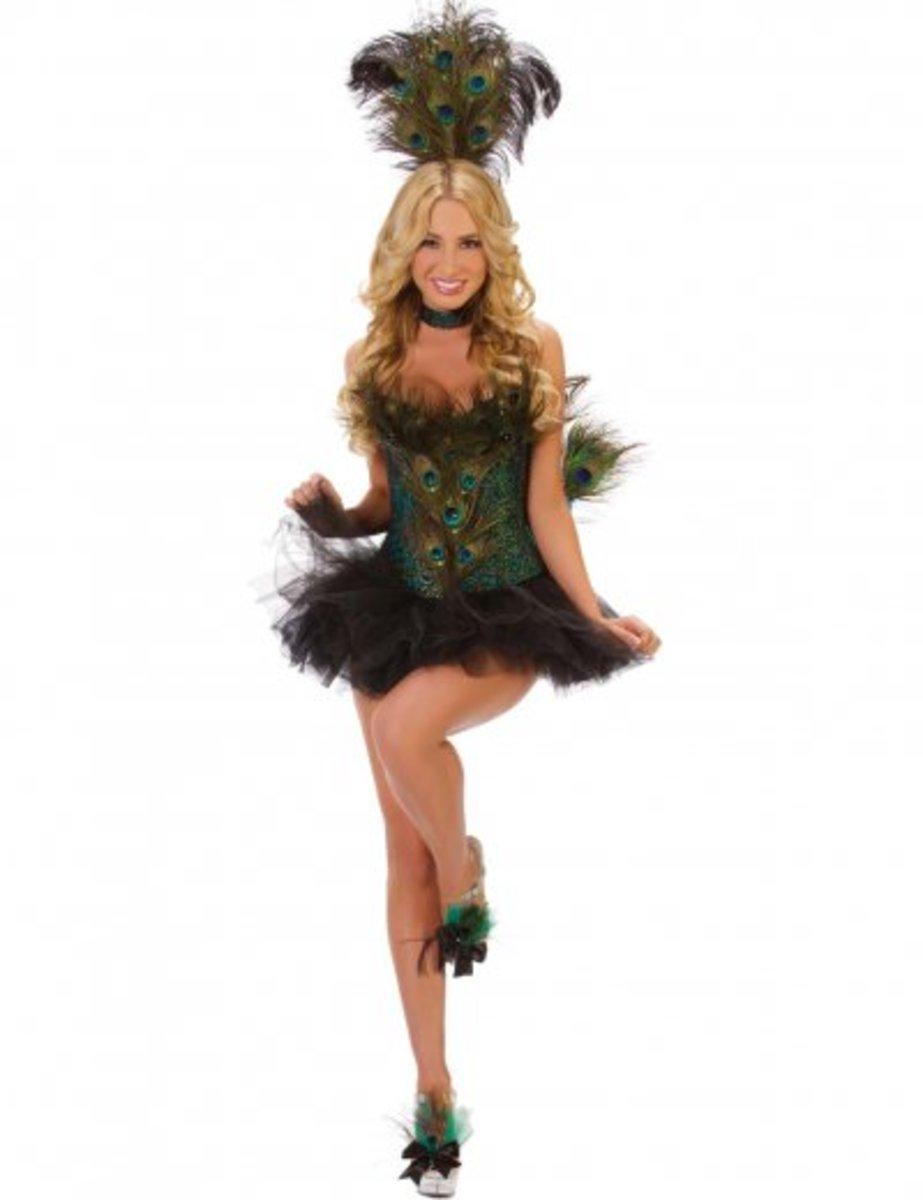 Seduce in a Sexy Peacock Costume