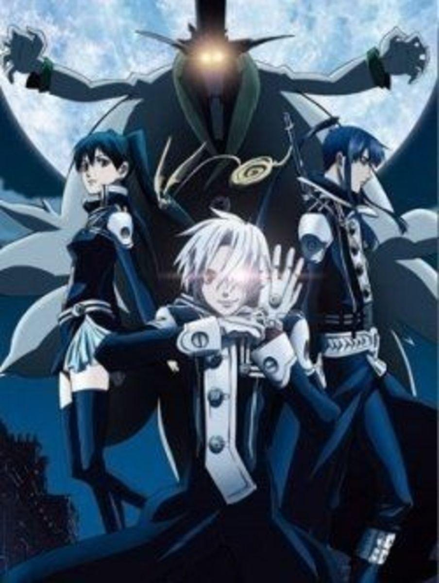 D. Gray-man anime