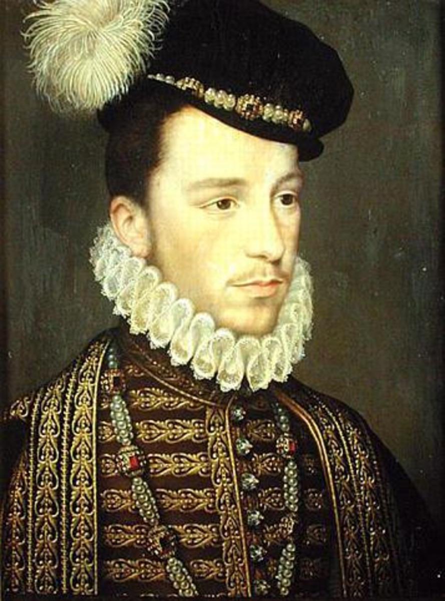 Portrait of King Henry III of France