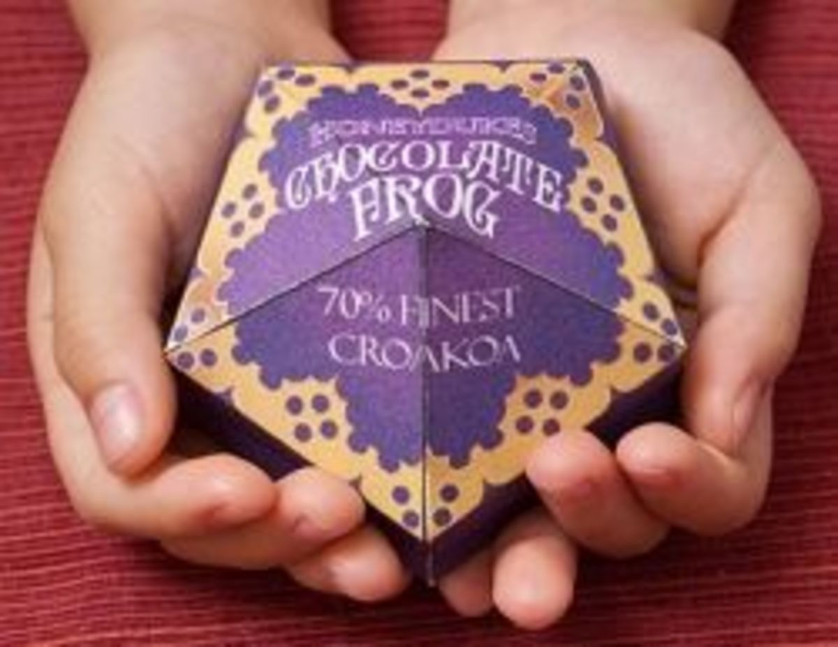 How To Make A Chocolate Frog
