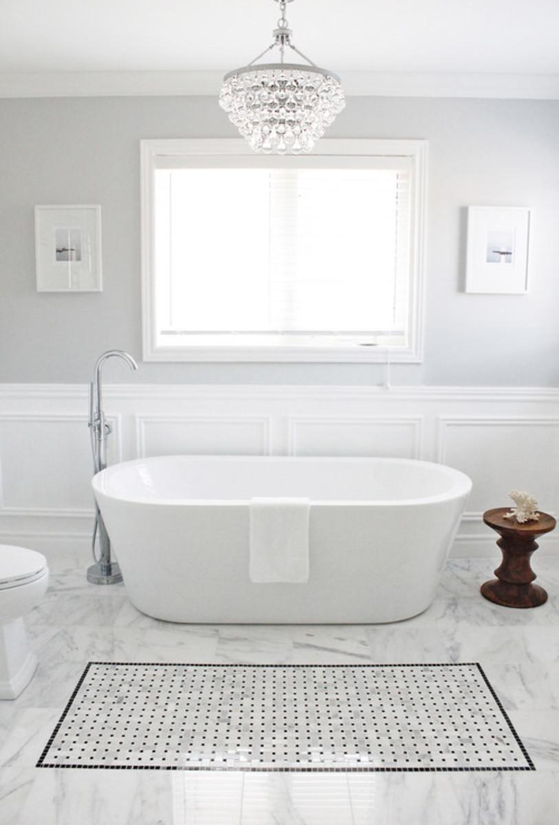Contemporary Bathroom design by Toronto Interior Designer AM Dolce Vita.