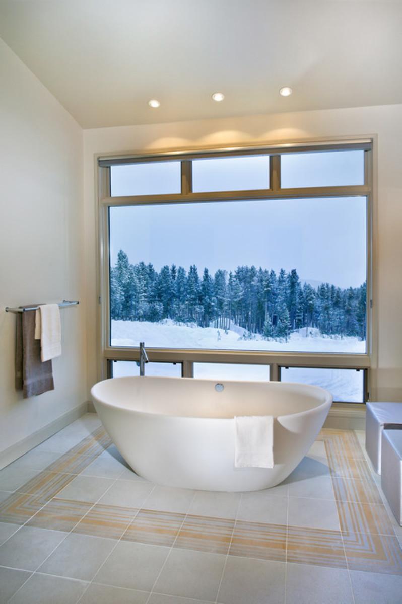 Contemporary Bathroom design by Atlanta Interior Designer New Mood Design LLC.