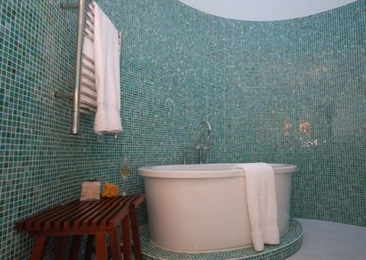 Contemporary Bathroom design by Chicago Interior Designer Emily Mackie