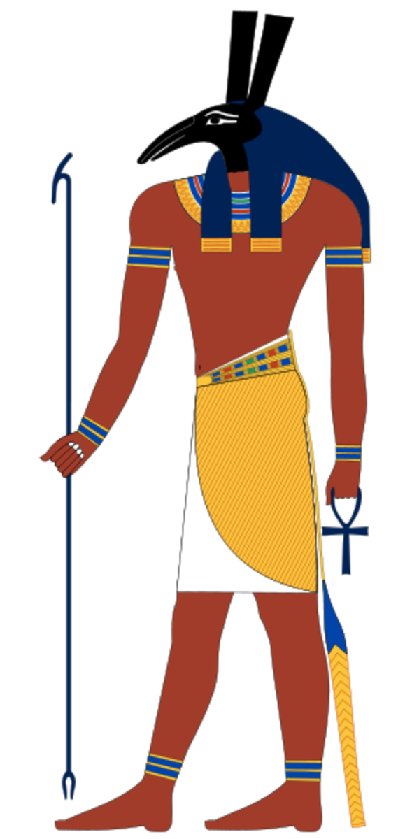The Egyptian God of Deserts and Chaos: Seth