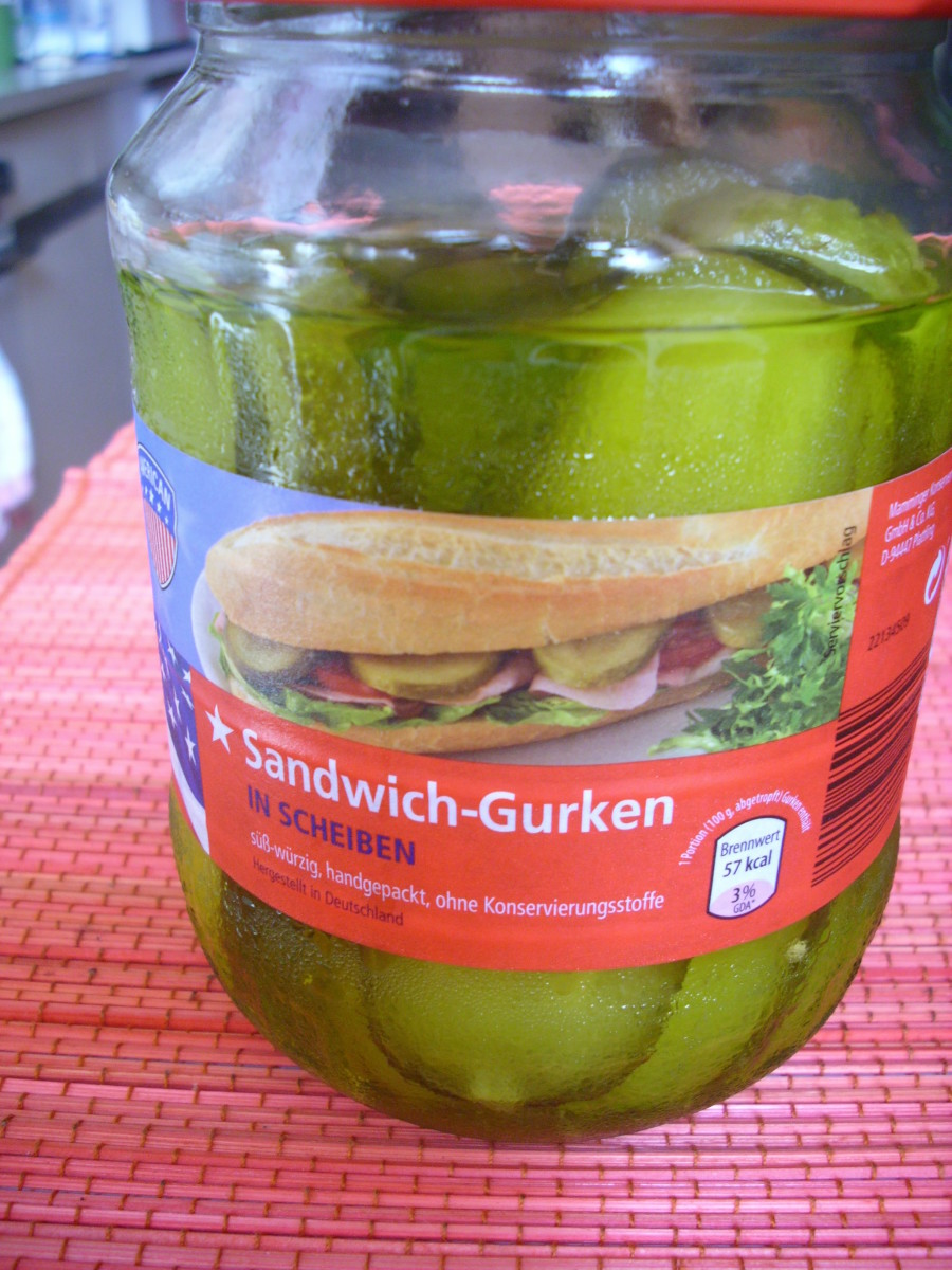 Pickled Sliced Gherkins