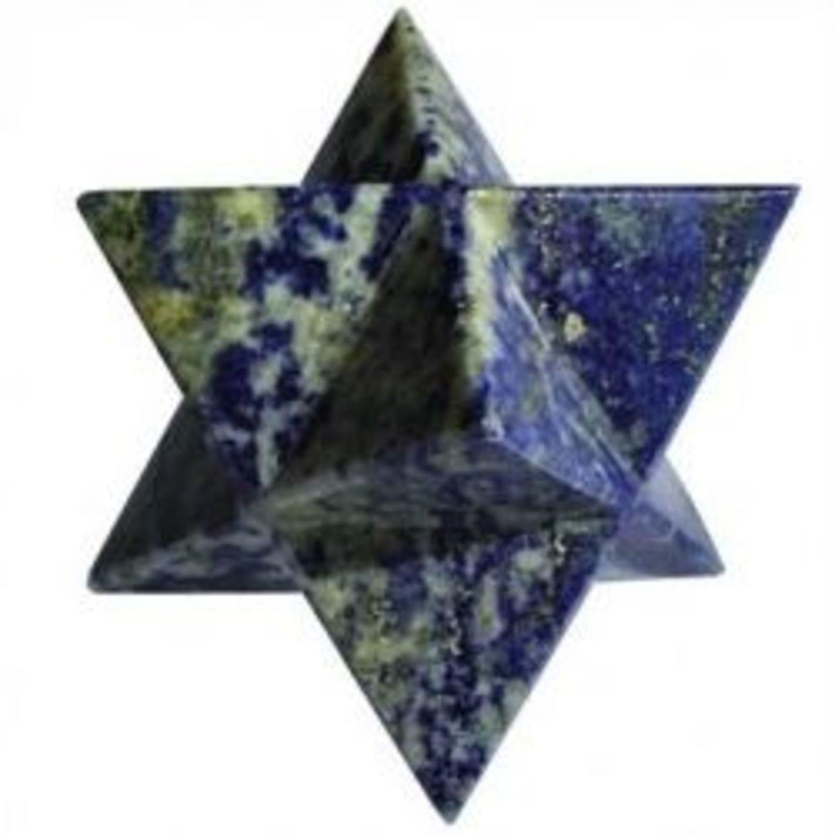 Buy Lapis Lazuli Merkaba on Amazon