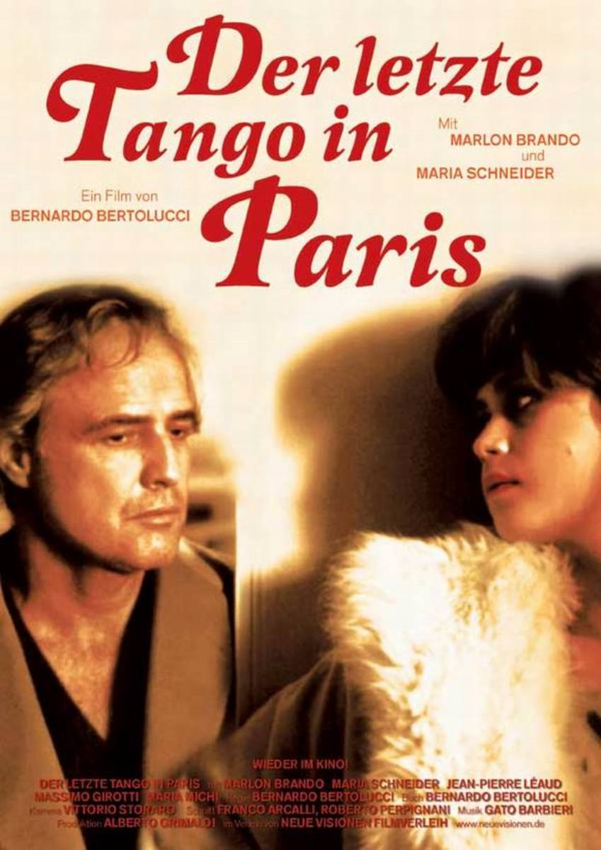 Last Tango in Paris (1972) German poster