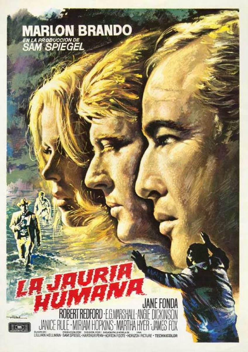 The Chase (1966) Spanish poster