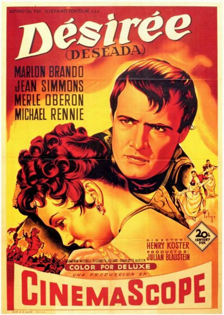 Desiree (1954) Spanish poster