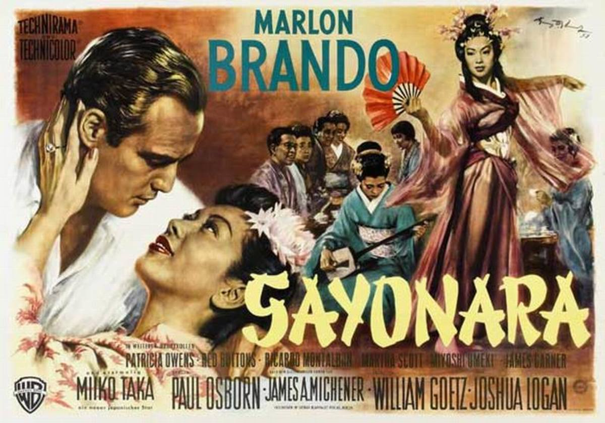 Sayonara (1957) German poster