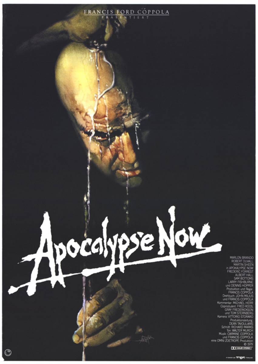 Apocalypse Now (1979) art by Bob Peak - German poster
