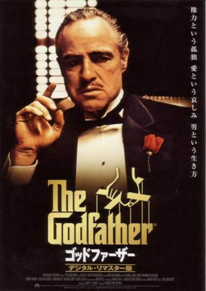The Godfather (1972) Japanese poster