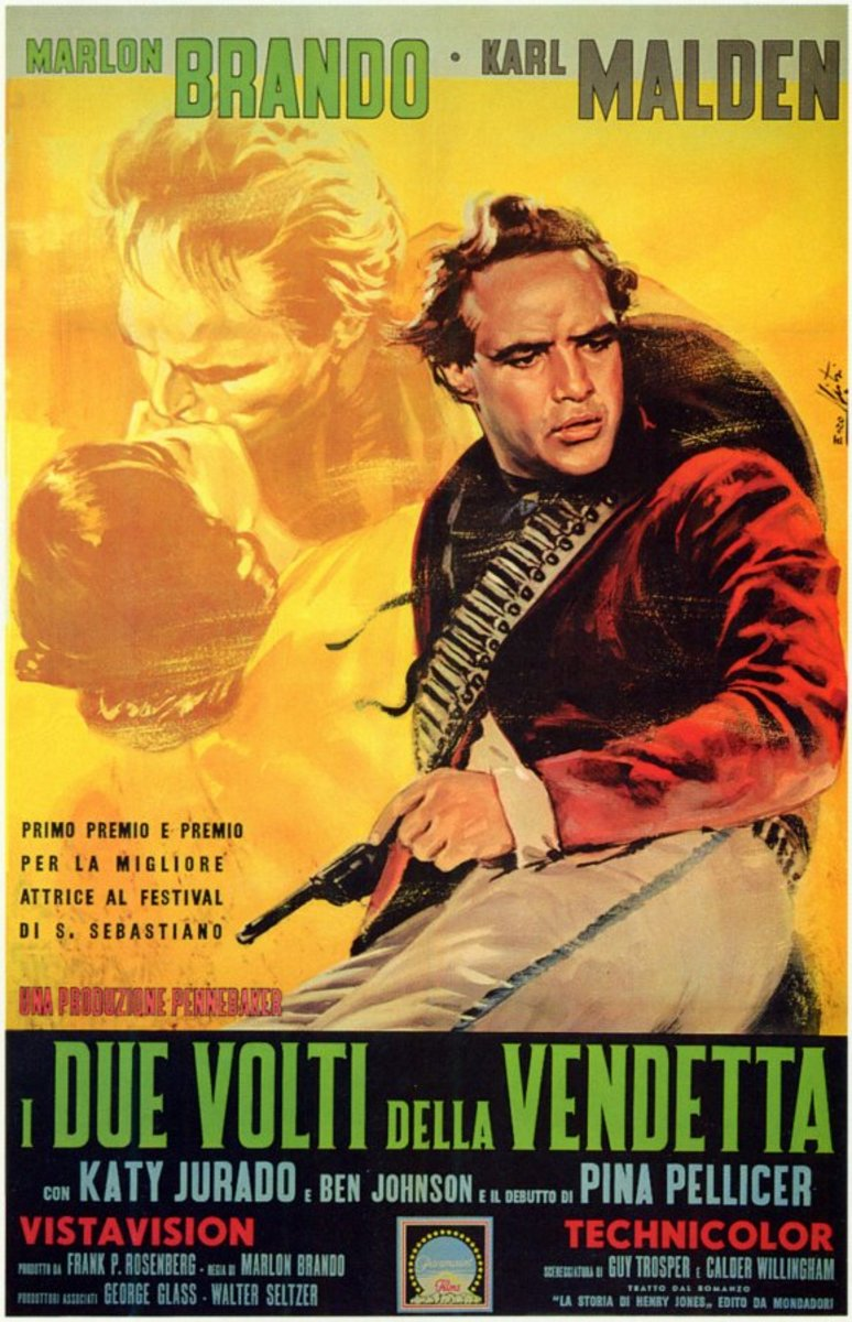 One Eyed Jacks (1961) Italian poster