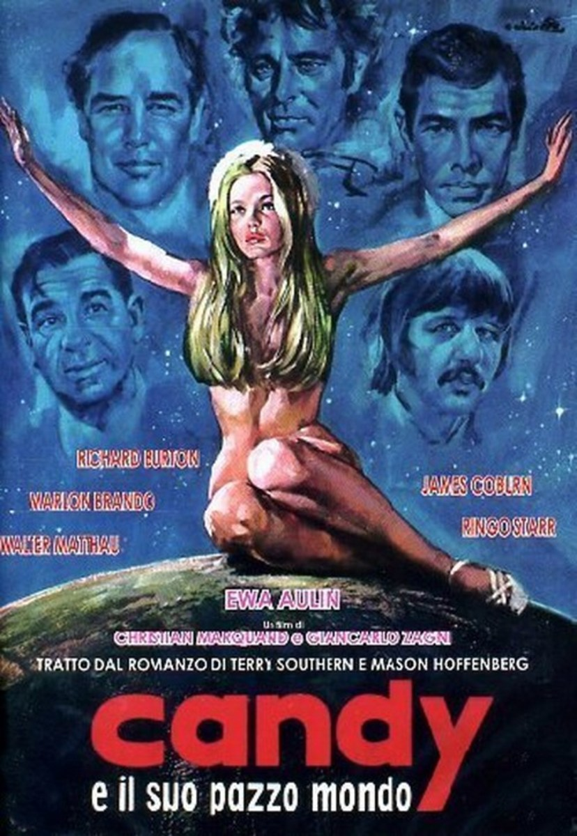 Candy (1968) Italian poster