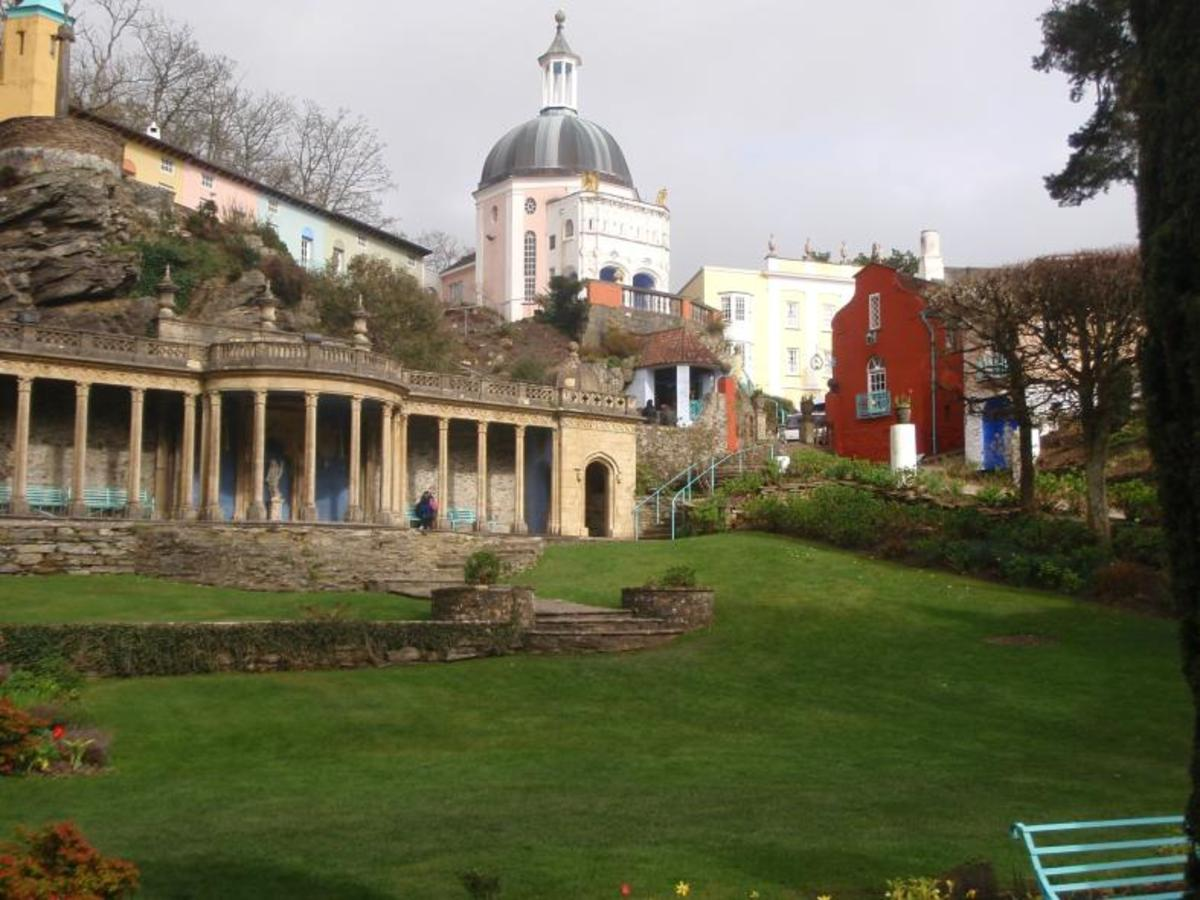 The Dome in Portmeirion