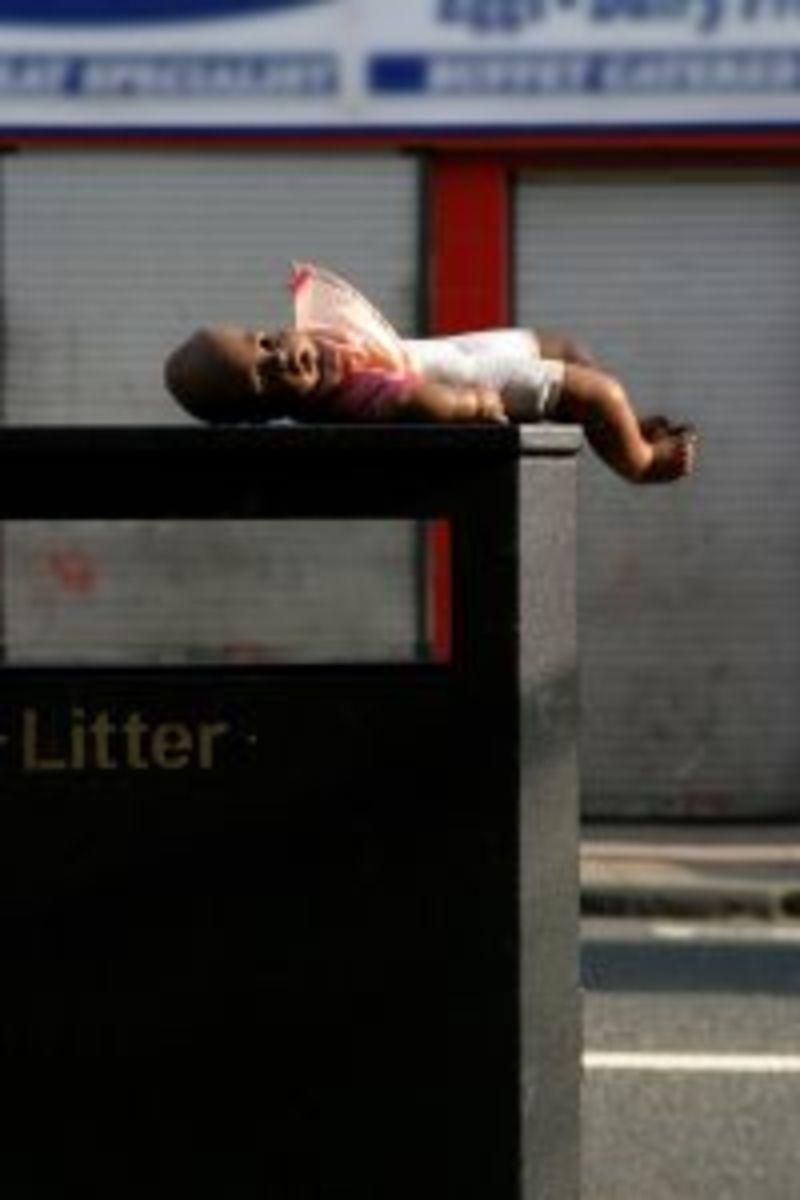 Throw away toys, throw away people; throw away women in Chinese society.