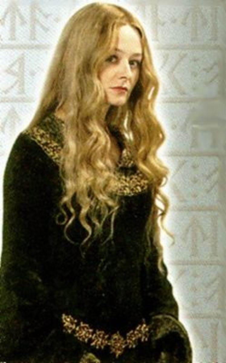 Miranda Otto as Eowyn from Lord of the Rings