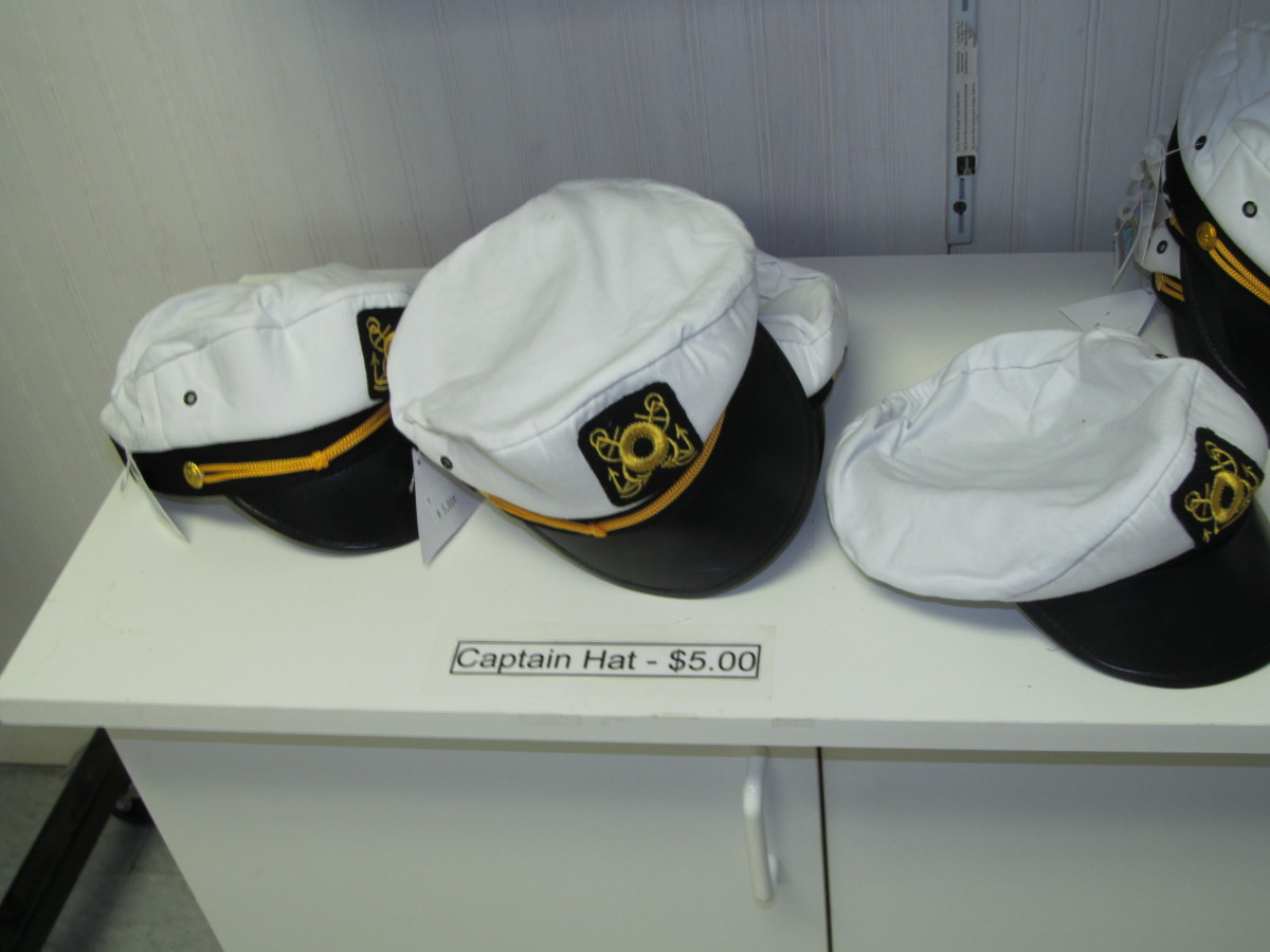 Sailor Hats only $5.00