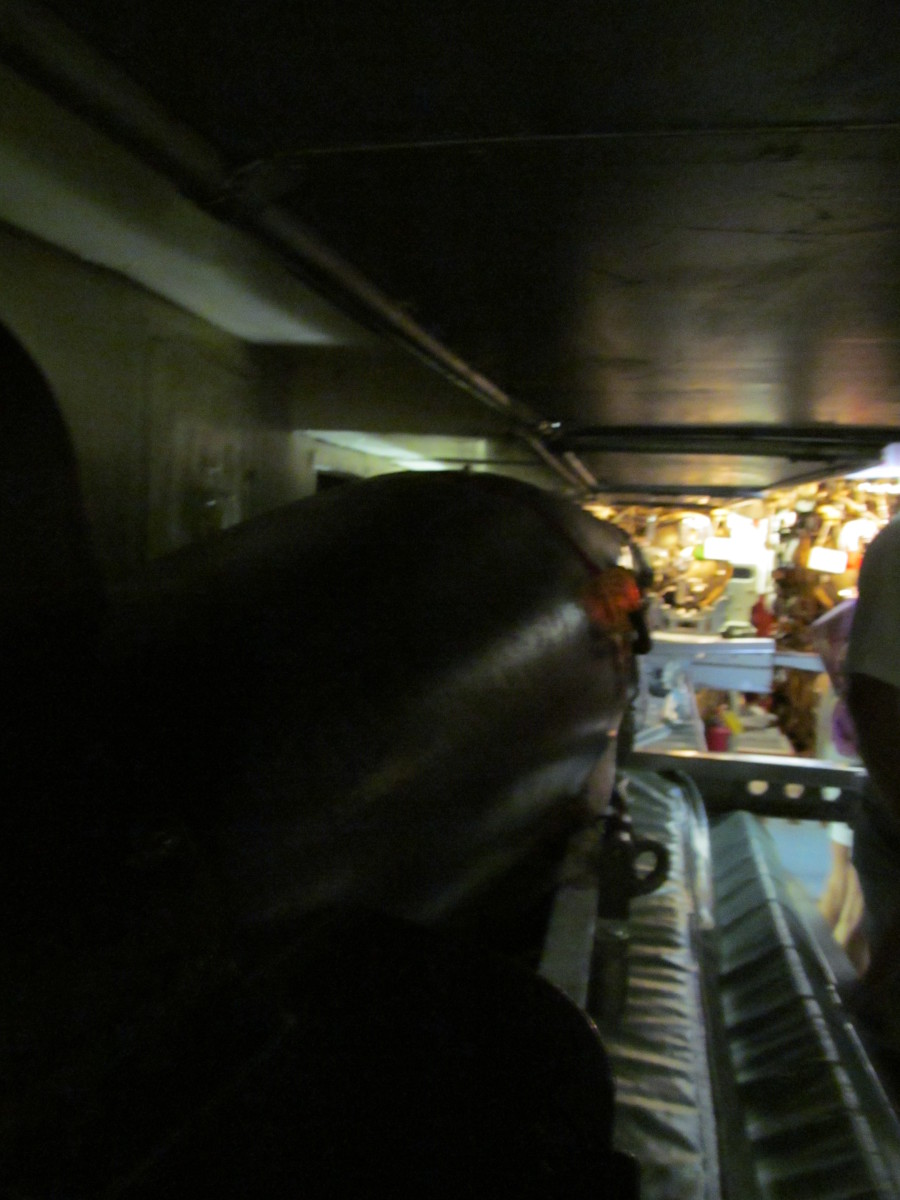 View Down the missile.
