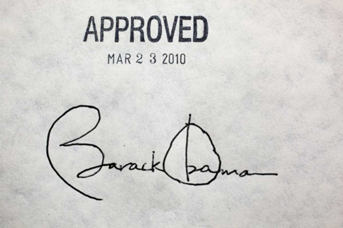 What clues can you find in President Obama's handwrighting?