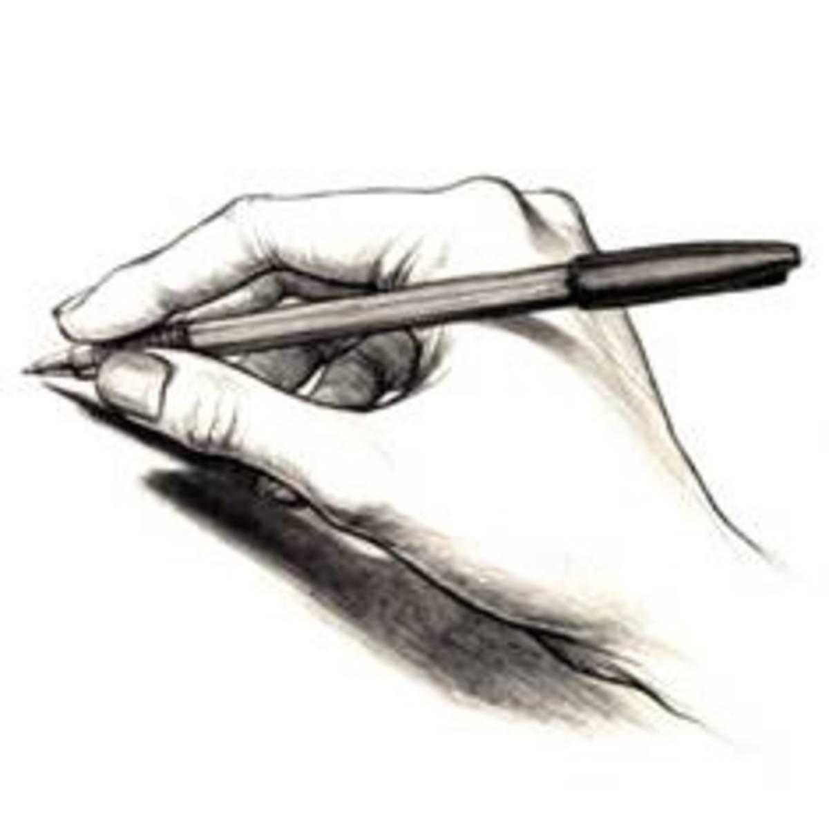 The Secrets of / in Handwriting Analysis