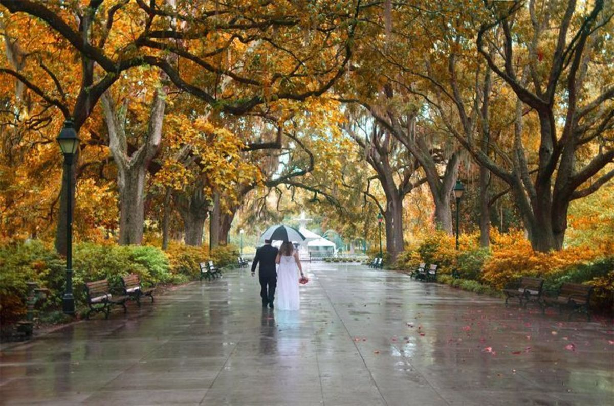 Forsythe Park in Savannah, Georgia Top Cities in America for Fall Traveling