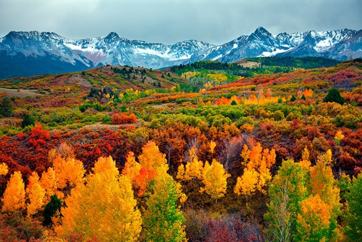 Colorado Mountains Top Cities in America for Fall Traveling
