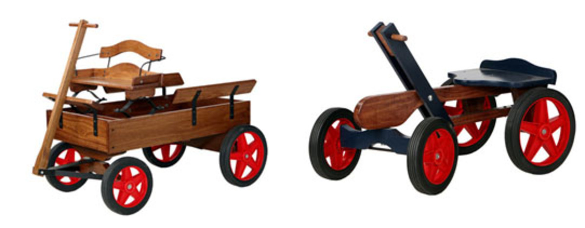 Buckboard Wagon & Hand Car Kit