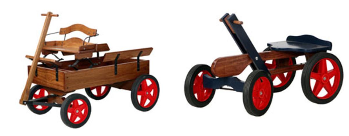 Buckboard Wagon & Hand Car Kit