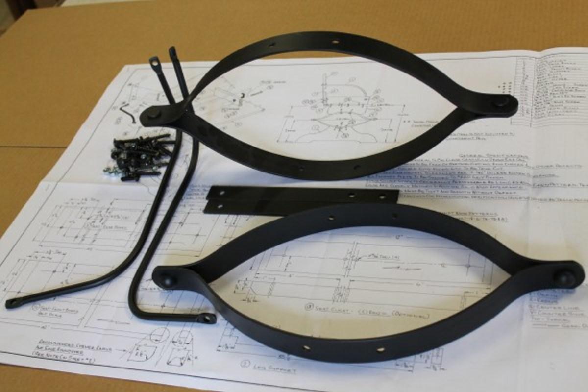 Buckboard Bench Hardware and Plan Kit