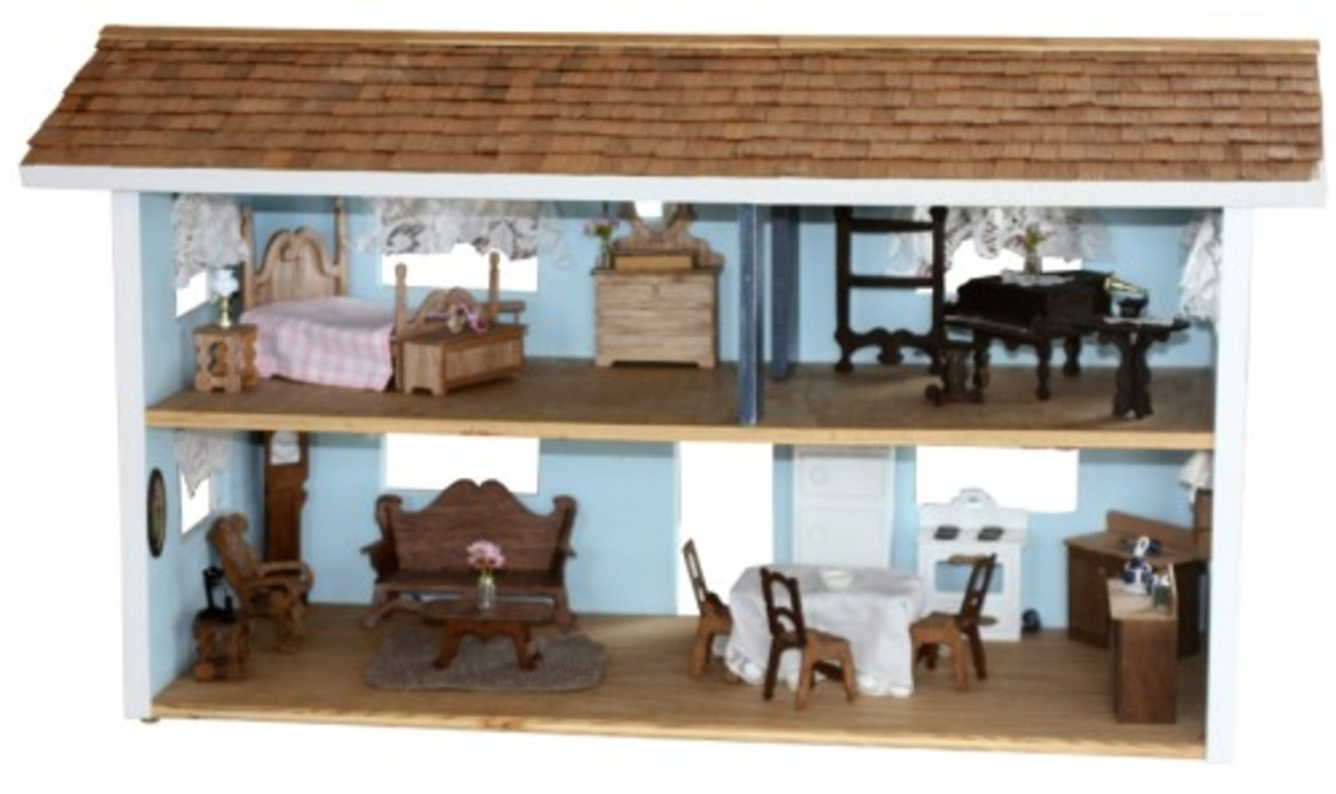 Amish Crafted Doll House Kits