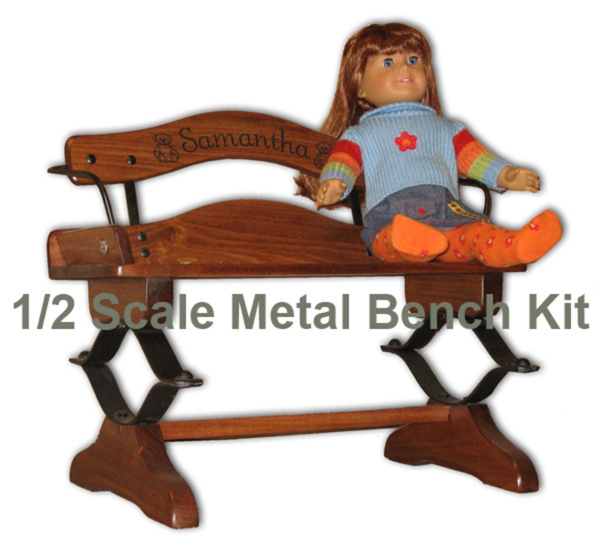 Miniature Buckboard Bench Kit