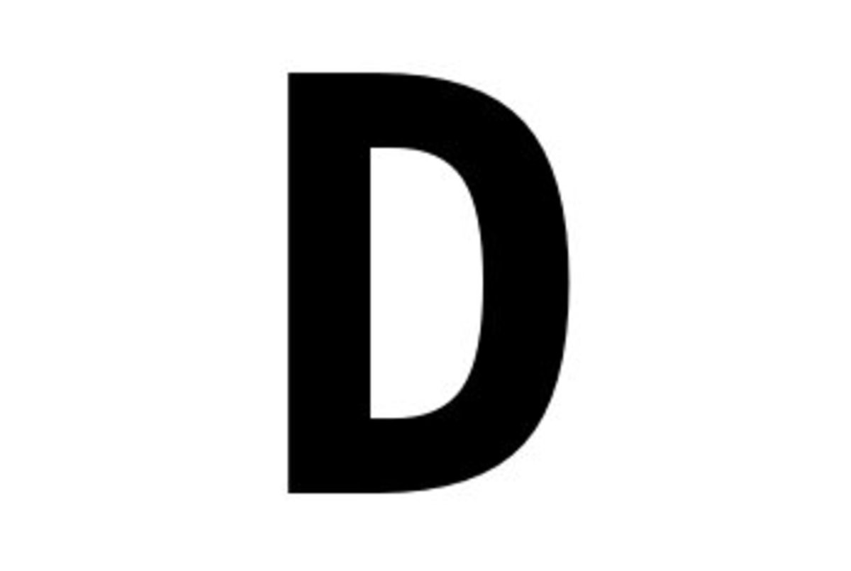 D is for done
