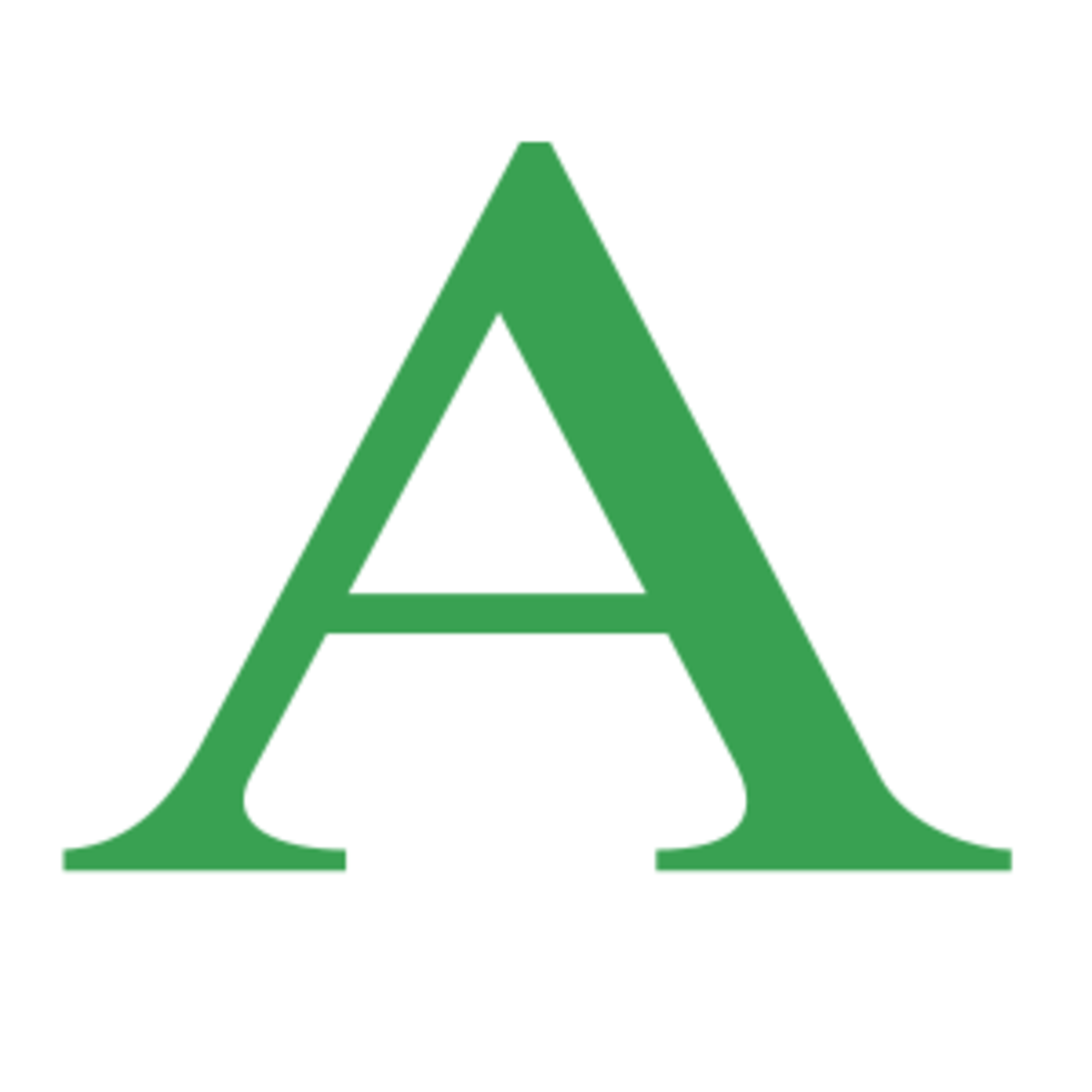 A is for angle