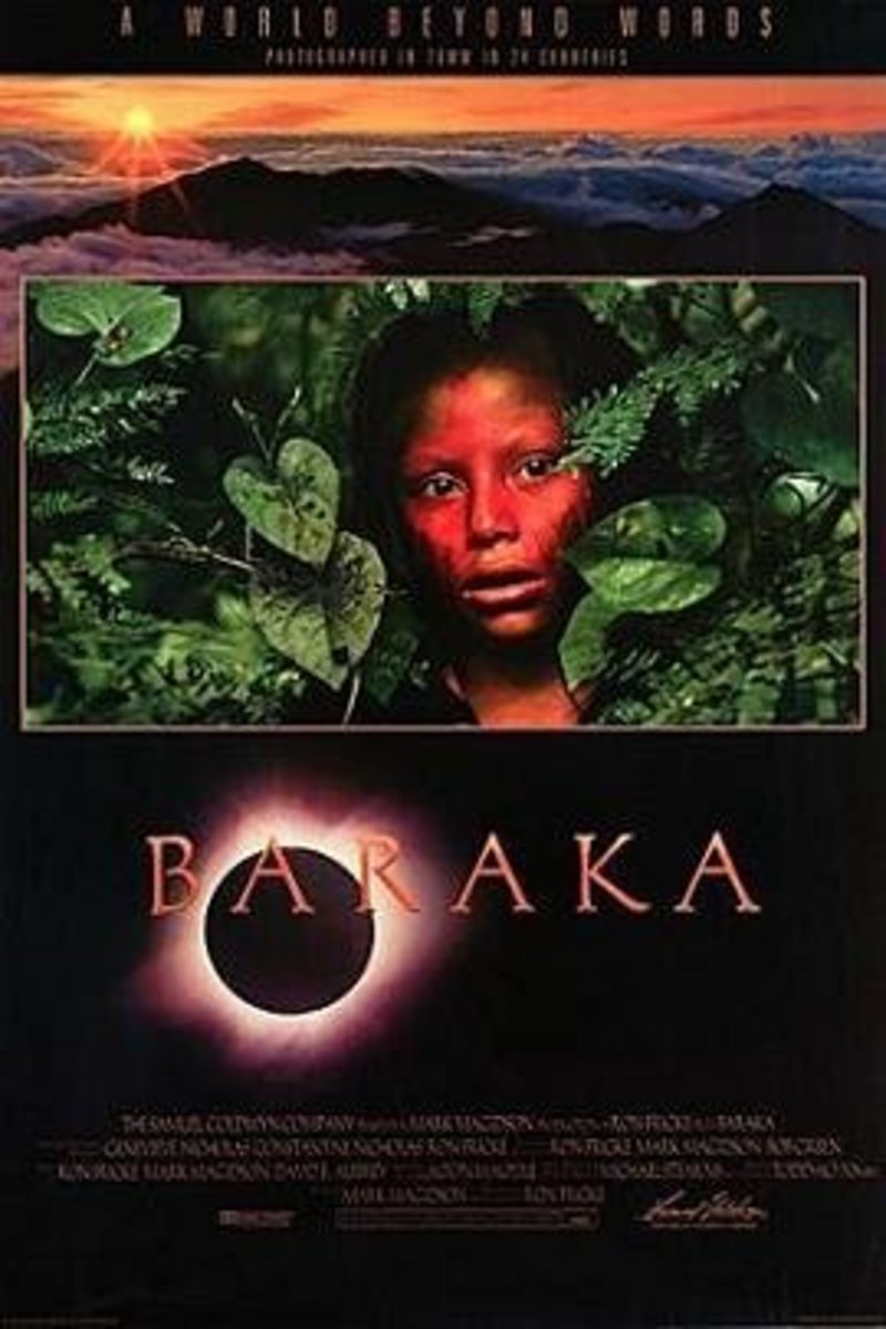 Baraka (1992) Directed By: Ron Fricke Starring: NIL