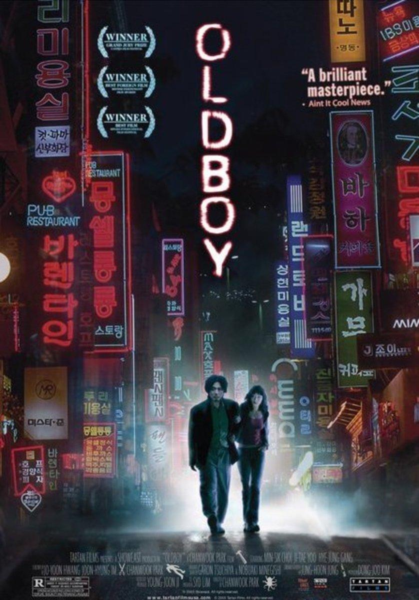 Old Boy (2003)  Directed by: Chan-wook Park Starring: Min-sik Choi, Ji-tae Yu, Hye-jeong Kang