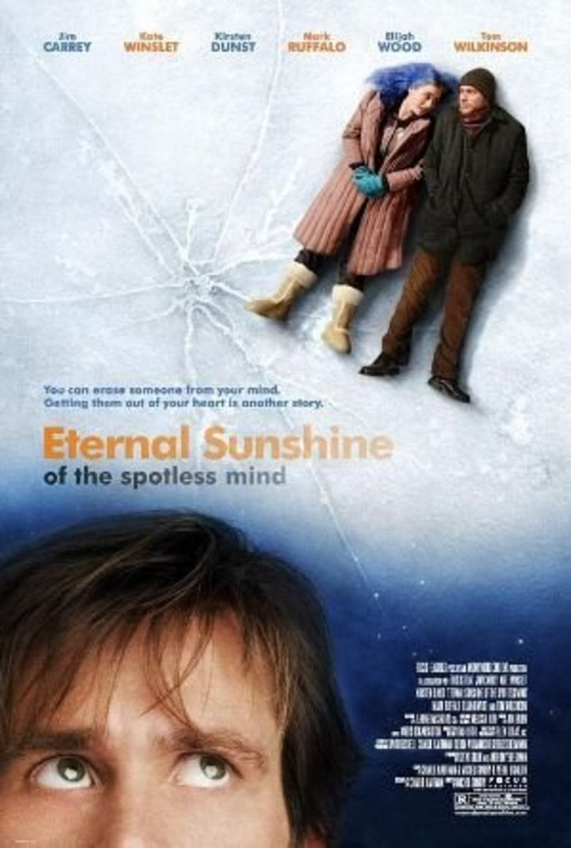 Eternal Sunshine on the Spotless Mind (2004) Directed by: Michel Gondry Starring: Jim Carrey, Kate Winslet, Kirsten Dunst